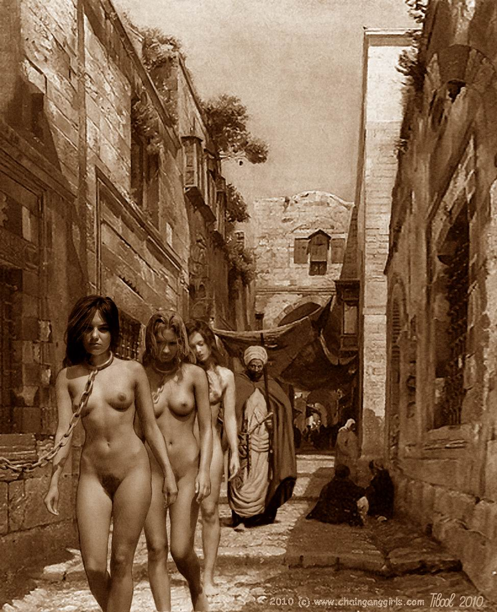 from Canaan naked slave women
